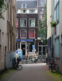 Amsterdam alley royalty free stock image