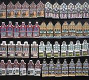 Amsterdam alloggia i ricordi Fotografie Stock