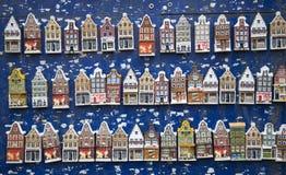 Amsterdam alloggia i ricordi Fotografie Stock Libere da Diritti
