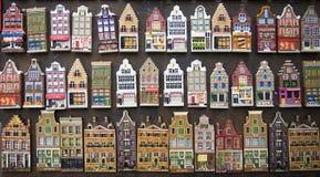 Amsterdam alloggia i ricordi Immagini Stock