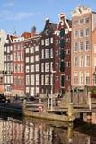 Amsterdam alloggia il tramonto dell'AR Fotografie Stock Libere da Diritti