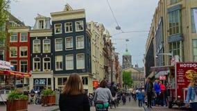 Amsterdam-alte Stadt Stockbild