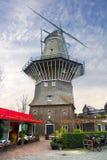amsterdam Alte Windmühle Stockfotografie