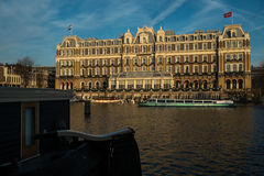 Amsterdam Amstel Hotel Stock Photography