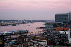 Amsterdam Amstel river stock images