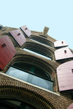 Amsterdam apartments Royalty Free Stock Image