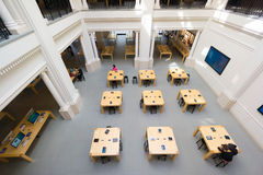 Amsterdam Apple store interior Royalty Free Stock Photos