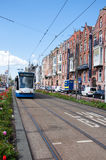 AMSTERDAM-APRIL 30: Amsterdam cityscape around the museum quarter on April 30, 2015. Royalty Free Stock Photo