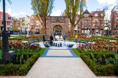 30 Amsterdam-APRIL: De Tuin in Rijksmuseum op 30 April, 2015 Stock Afbeeldingen