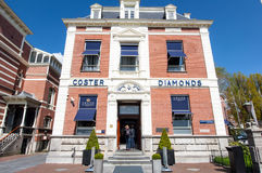 30 Amsterdam-APRIL: Diamond Museum Amsterdam op 30,2015 April, Nederland Royalty-vrije Stock Afbeelding