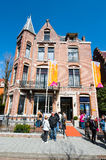 AMSTERDAM-APRIL 30: The Diamond Museum Amsterdam, people intend to the museum on April 30,2015, the Netherlands. Royalty Free Stock Image
