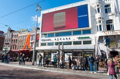 Amsterdam-April 30: Escape nightclub on Rembrandtplein on April 30,2015, the Netherlands. Stock Photography