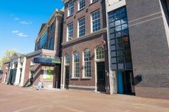 30 Amsterdam-april: Het Museum van Joods Historisch op 30,2015 April, Nederland Stock Afbeeldingen