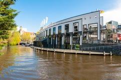 30 Amsterdam-APRIL: Holland Casino op het Singelgrachtkering-Kanaal op 30,2015 April in Amsterdam, Nederland Stock Afbeeldingen