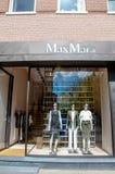 30 Amsterdam-APRIL: Max Mara-opslag in P C Hooftstraat het winkelen straat op 30,2015 April in Amsterdam Stock Afbeelding