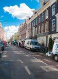 30 Amsterdam-APRIL: P C De straat van de Hooftstraatmanier met de rij van winkels op 30 April, 2015 Royalty-vrije Stock Foto
