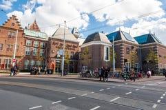 30 Amsterdam-APRIL: Rijksmuseum (zuidelijke kant van het gebouw) op 30 April, 2015 Royalty-vrije Stock Fotografie