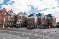 30 Amsterdam-APRIL: Rijksmuseum (zuidwestenkant) op 30 April, 2015 Royalty-vrije Stock Afbeelding