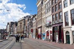 27 Amsterdam-APRIL: Rokin tijdens de Dag van de Koning in Amsterdam Royalty-vrije Stock Afbeeldingen