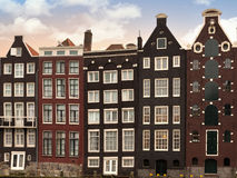 Amsterdam architectre at twilight Royalty Free Stock Photography