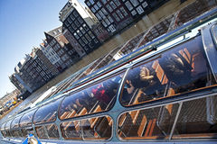 Free Amsterdam Architecture From Boat Stock Photo - 30663530