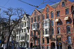 Amsterdam architecture stock images