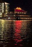 Sea palace - Chin restaurant in Amsterdam royalty free stock photography