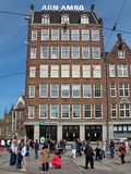Amsterdam - architettura della città di Amsterdam Fotografia Stock