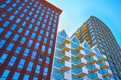 Amsterdam, architettura, vita complessa di Nautique dello studente Immagini Stock Libere da Diritti