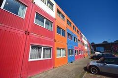 Amsterdam, architettura, vita complessa di Nautique dello studente Immagine Stock Libera da Diritti
