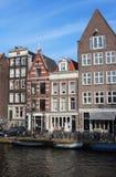 Amsterdam arkitektur Arkivbilder