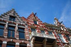 Amsterdam arkitektur Royaltyfri Foto