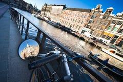 Amsterdam asoleada Imagen de archivo