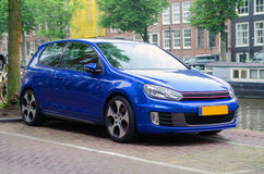 Amsterdam-Auto Stockbild
