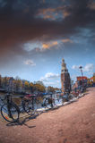 Amsterdam autumn. Stock Image