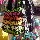 Amsterdam bag Royalty Free Stock Images