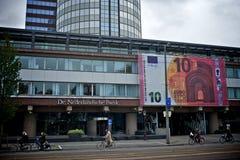 Amsterdam bank Stock Photography