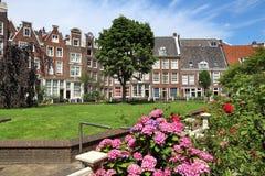 amsterdam begijnhof Fotografia Royalty Free