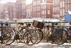 Amsterdam bicycles Royalty Free Stock Image