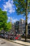 Amsterdam bicycles Stock Photos