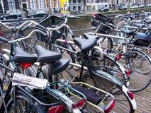 Amsterdam bicycles Stock Photo