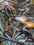 Amsterdam bicycles Stock Images