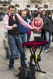 Amsterdam bietet jedem Sommerviel preiswerte Unterhaltung, spezielle Leistungen, Festivals, Kulturveranstaltung und Straßenausfüh Lizenzfreie Stockfotografie