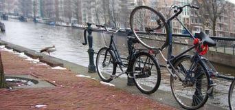 Amsterdam Bikes Royalty Free Stock Image