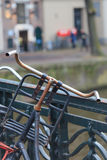 Amsterdam bikes Royalty Free Stock Images