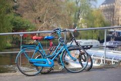 Amsterdam bikes Stock Image