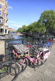 Amsterdam Bikes , Holland Royalty Free Stock Image