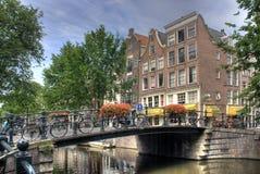Amsterdam Bridge Royalty Free Stock Photo