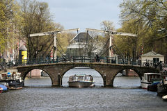 Amsterdam Bridge Stock Photos