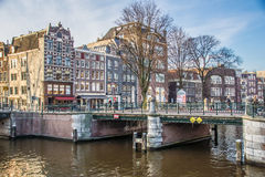 Amsterdam Bridge Stock Photography
